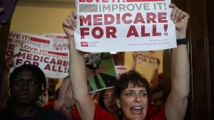 Trump will seine Gesundheitsreform retten