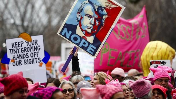 Trumps Frauen-Problem