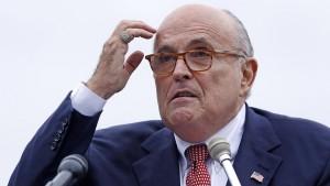 Hoher Diplomat belastet Giuliani