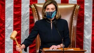 Repräsentantenhaus stimmt zweites Mal für Amtsenthebung Trumps