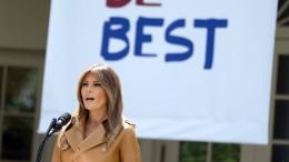 Melania Trump kritisiert Familientrennung an der Grenze