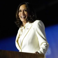 Die neue Nummer Zwei im Staat: Kamala Harris