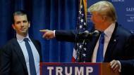 Trump junior und der achte Gast