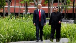 Trump schickt Kim einen Brief