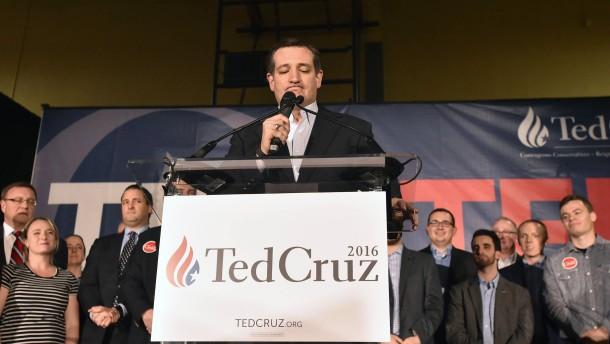 Cruz ergeht sich in Zweckoptimismus