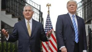Weißes Haus spielt Streit mit Außenminister herunter