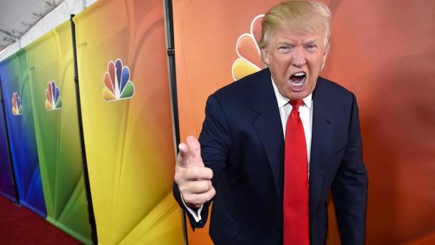 Der Drückeberger Donald Trump