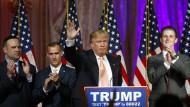 Donald Trump hat mit der Pose des Volkstribuns viele Wähler für sich gewonnen.