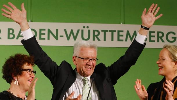 Triumph für Grüne, Schock für SPD