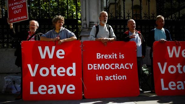 Es wird Zeit für den Brexit