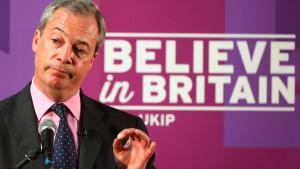 Farage bleibt doch Ukip-Chef