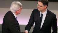 Bouffier in Umfrage klar vor Schäfer-Gümbel