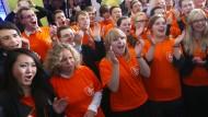 Die CDU gewinnt in Thüringen, die SPD in Brandenburg