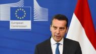 Der österreichische Bundeskanzler Kern fordert mehr wirtschaftliches Engagement der EU.