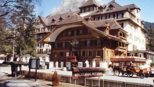 Im ältesten Hotel von Kandersteg