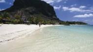 Traumstrand-Ziel Mauritius