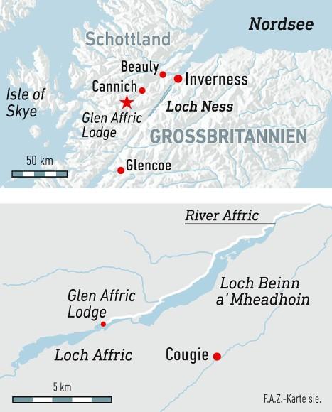Schottland Karte Highlands.Bilderstrecke Zu Schottland Mit James Middleton In Den Highlands