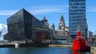 In Liverpool hat man ein Herz für alles Schräge. Das erklärt eventuell einige Architekturpräferenzen.