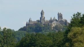 Ein Bild von einer Burg: Die Residenz der Grafen zu Solms ist der ganze Stolz von Braunfels im Herzen Hessens.