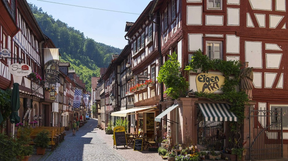 Ein Bilderbuchstädtchen, das derzeit allerdings auf Tourismus verzichten muss: Miltenberg am Bayerischen Untermain.
