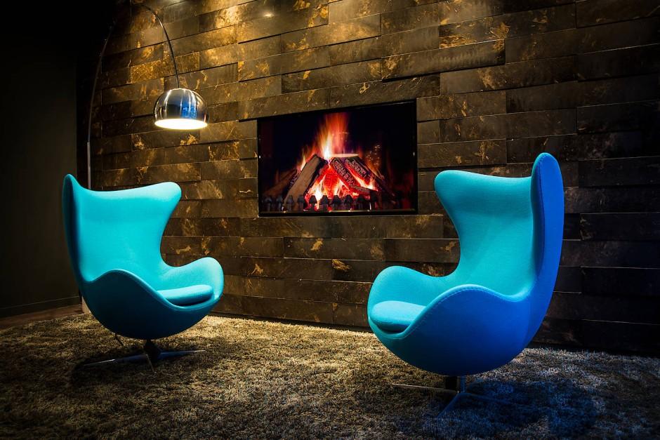 Das Markenzeichen: Wer einmal im Motel One war, der kennt den Egg Chair von Arne Jacobsen.