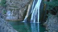 An diesem Fels entspringt der Rio Mundo, der Weltfluss