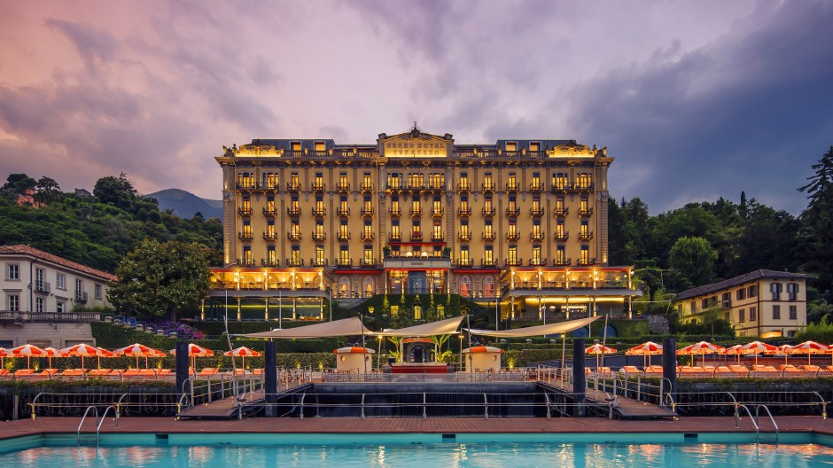 Grand Tour: Wenn Amerikaner an den Comer See denken, haben viele dieses Hotel vor Augen: das Grand Hotel Tremezzo.