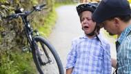 Familienurlaub - und seine Kehrseiten. Radfahren an der Loire ist aber überwiegend ein großes Vergnügen.