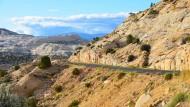Die Staatsstraße 12 führt durch den Nationalpark