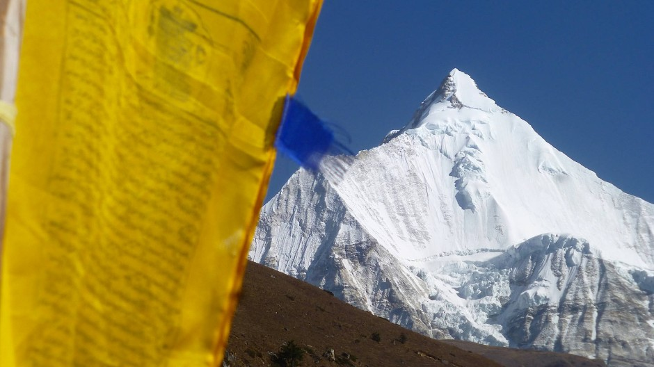 Der Jichu Drake liegt am Rande des Jigme-Dorji-Nationalparks. In Anbetracht seiner steilen Eisflanken ist es vielleicht ganz gut, dass seine Besteigung tabu ist.