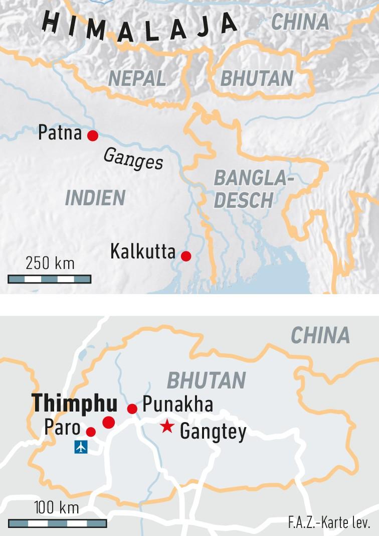 Bhutan Was Ist Gluck Reise Faz