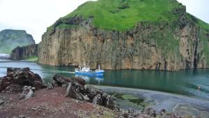 Alles wie immer - und doch alles neu: Auf den Westmänner-Inseln hat man sich mit der Katastrophe arrangiert. Ein Besuch auf Heimæy.