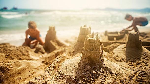 Eine Welt aus Sand