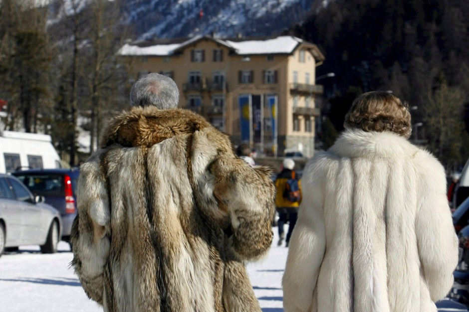 """Das Schaulaufen überlässt man denen, die man im Tal """"Cervelat-Prominenz"""" nennt. Denn eigentlich ist St. Moritz eine geschlossene Gesellschaft."""