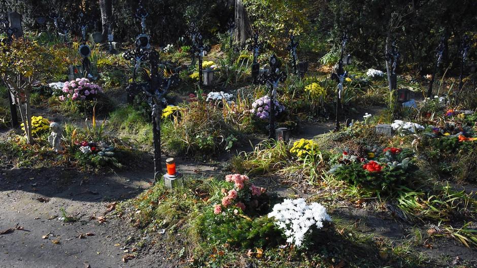 Ein silberner Jesus für jedes Grab: So wünschte es sich Josef Fuchs, der den Friedhof in Wien einst betreut hat.