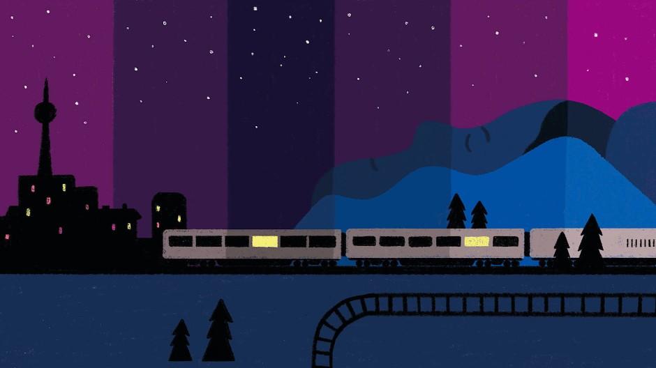 Durch die Nacht von Berlin nach Wien, bequem mit dem Nachtzug.