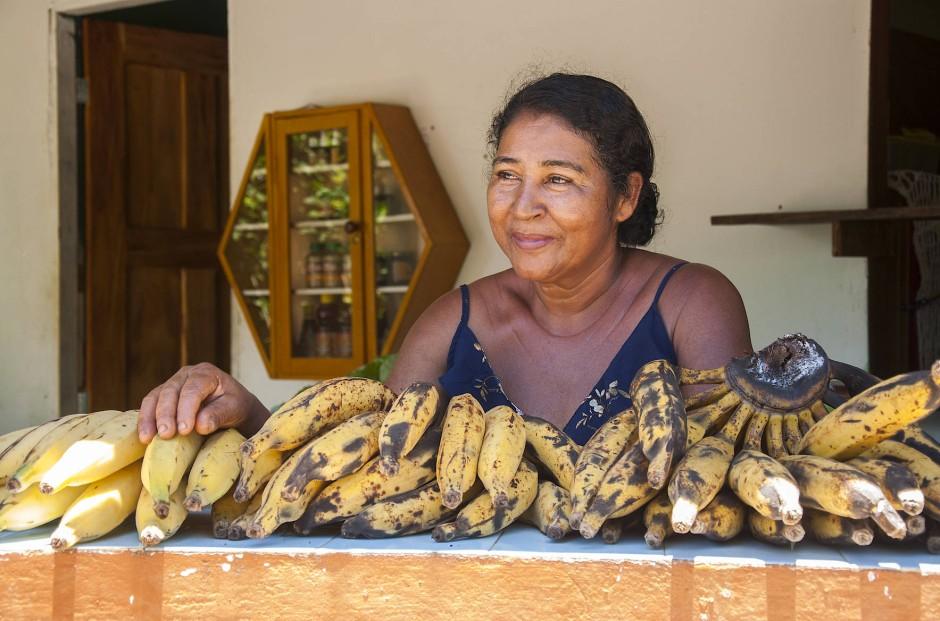 Die Obstverkäuferin: Dona Ni