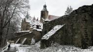 Tzschocha hat vielen polnischen Regisseuren als Filmkulisse gedient. Das Schloss gehört dem Verteidigungsministerium, das dort ein Hotel betreibt und den Kern der Anlage in Schuss hält.