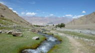 Leeres Land, befreit von allem Überfluss der Welt: Ladakh im Norden Indiens ist eine Landschaft für die Kontemplation.