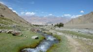 Leeres Land, befreit von allem Überfluss der Welt: Ladakh im Norden Indiens ist eine Landschaft für die Kontemplation.