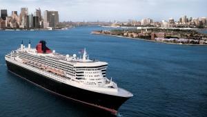 Was macht es schon, dass die Queen Mary 2 unter der Flagge Bermudas fährt? Sie ist der letzte der alten Oceanliner und damit eine echte Königin.