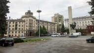 Das Hotel Chisinau ist das älteste in Moldawiens Hauptstadt. Viel ist seit Errichtung des Gebäudes nicht verändert worden.