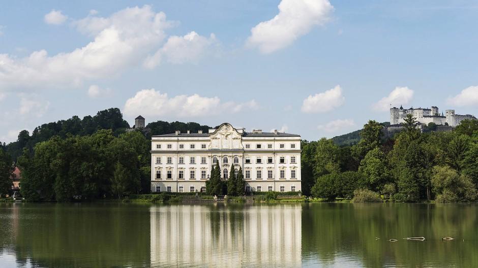 Mozart war da und später auch Hollywood: The Sound of Music wurde hier zum Teil gedreht, und noch immer geht es vor allem um die schönen Künste: Schloss Leopoldskron.