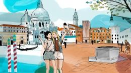 Venedig sehen und texten