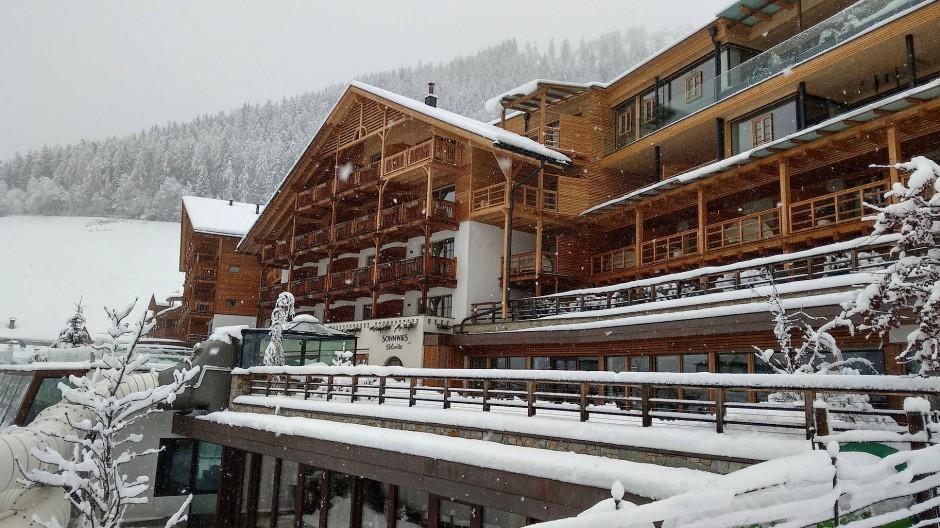 So hat ein Nobellandhotel auszusehen: Das Sonnwies bei Brixen.