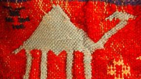 Als wär's ein Bild von Klee: tunesischer Teppich