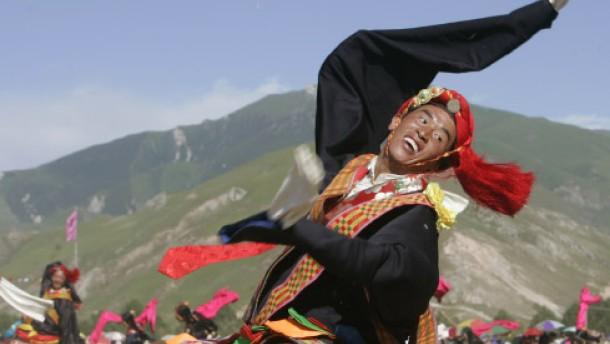 Ein Fest der tibetischen Kultur
