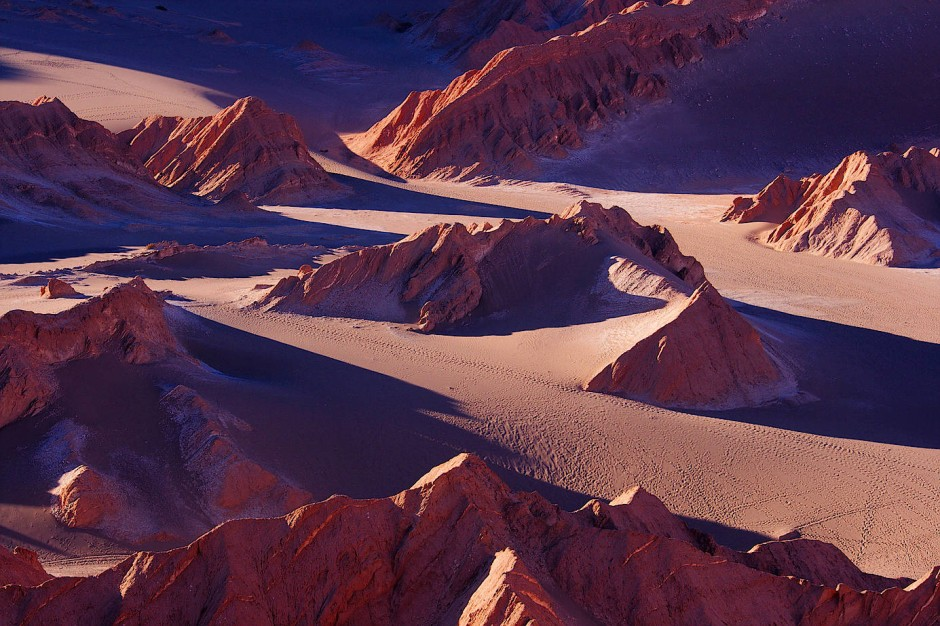 Im Tal der Toten: Abendstimmung im Valle de la Muerte.
