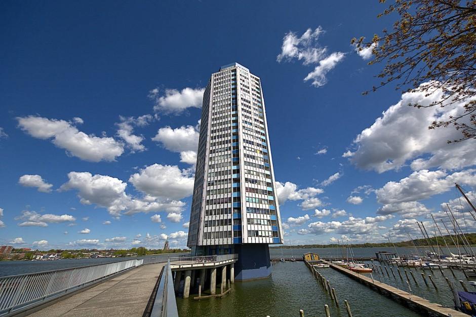 29 Stockwerke: Der Wikingturm in Schleswig