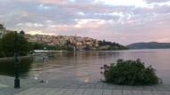 Glückliches Kastoriá! Die Krise hat die nordgriechische Stadt bislang verschont.